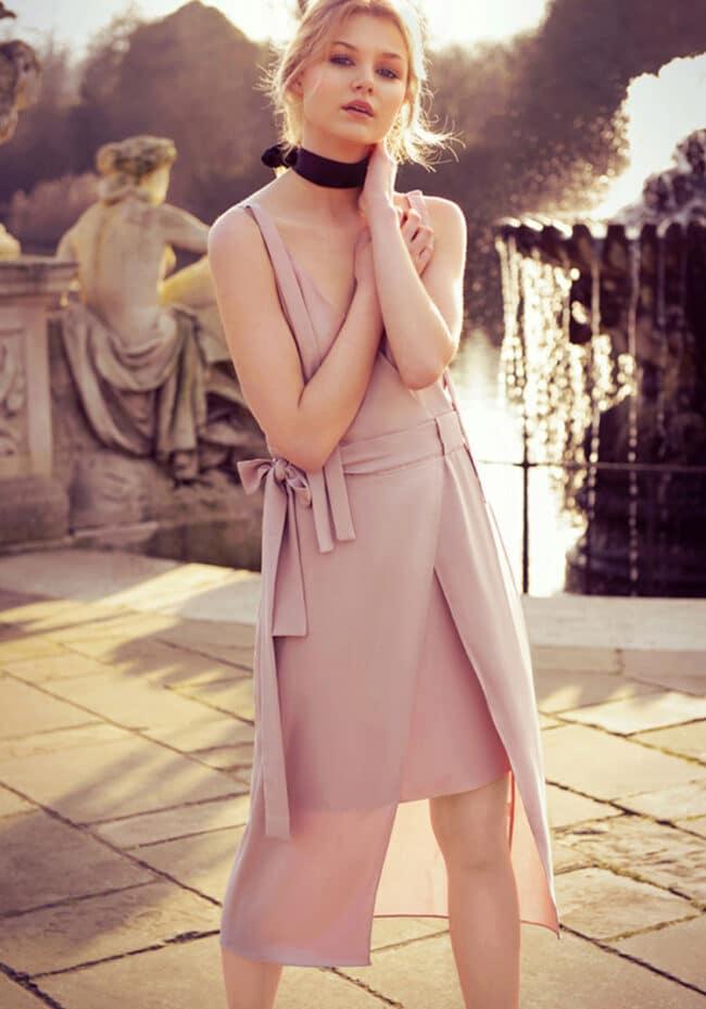 fashion photographer london sunset editorial