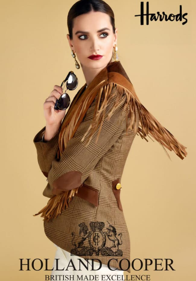 Holland Cooper Harrods Fashion Photography