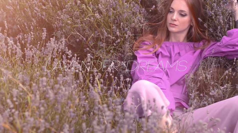 fashion videographer london lavender field