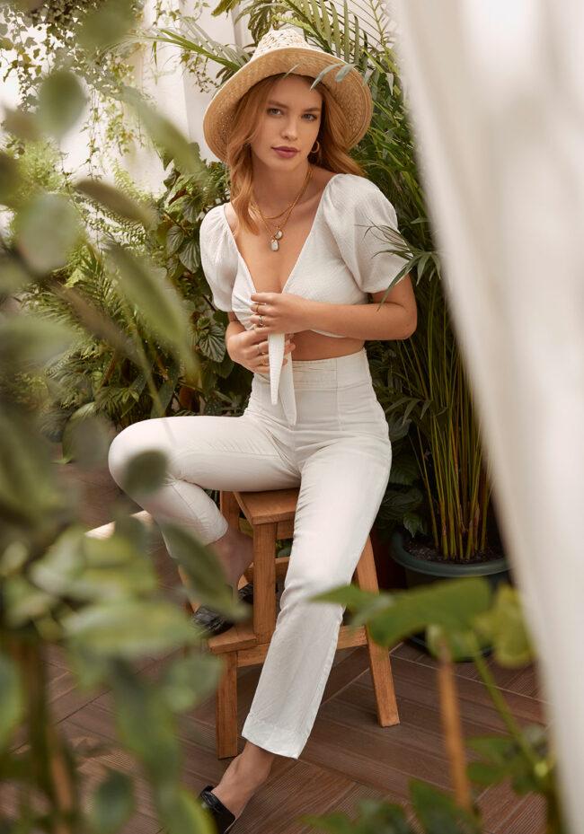 fashion photographer uk london editorial plants tropical