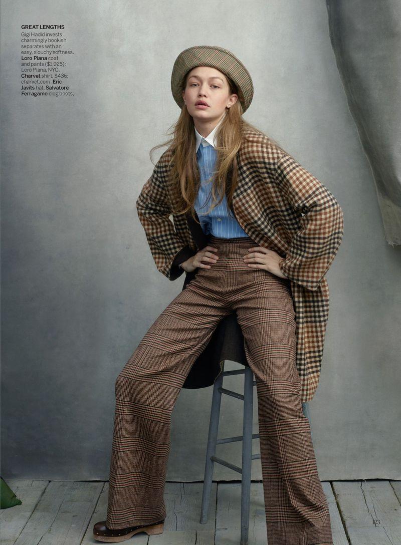 Annie Leibovitz GIGI HADID Vogue