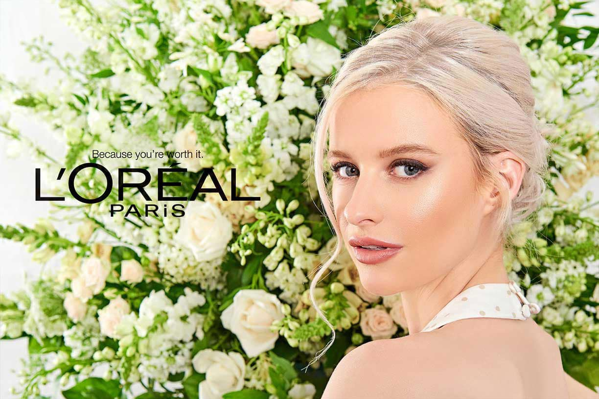 advertising photography L'Oreal