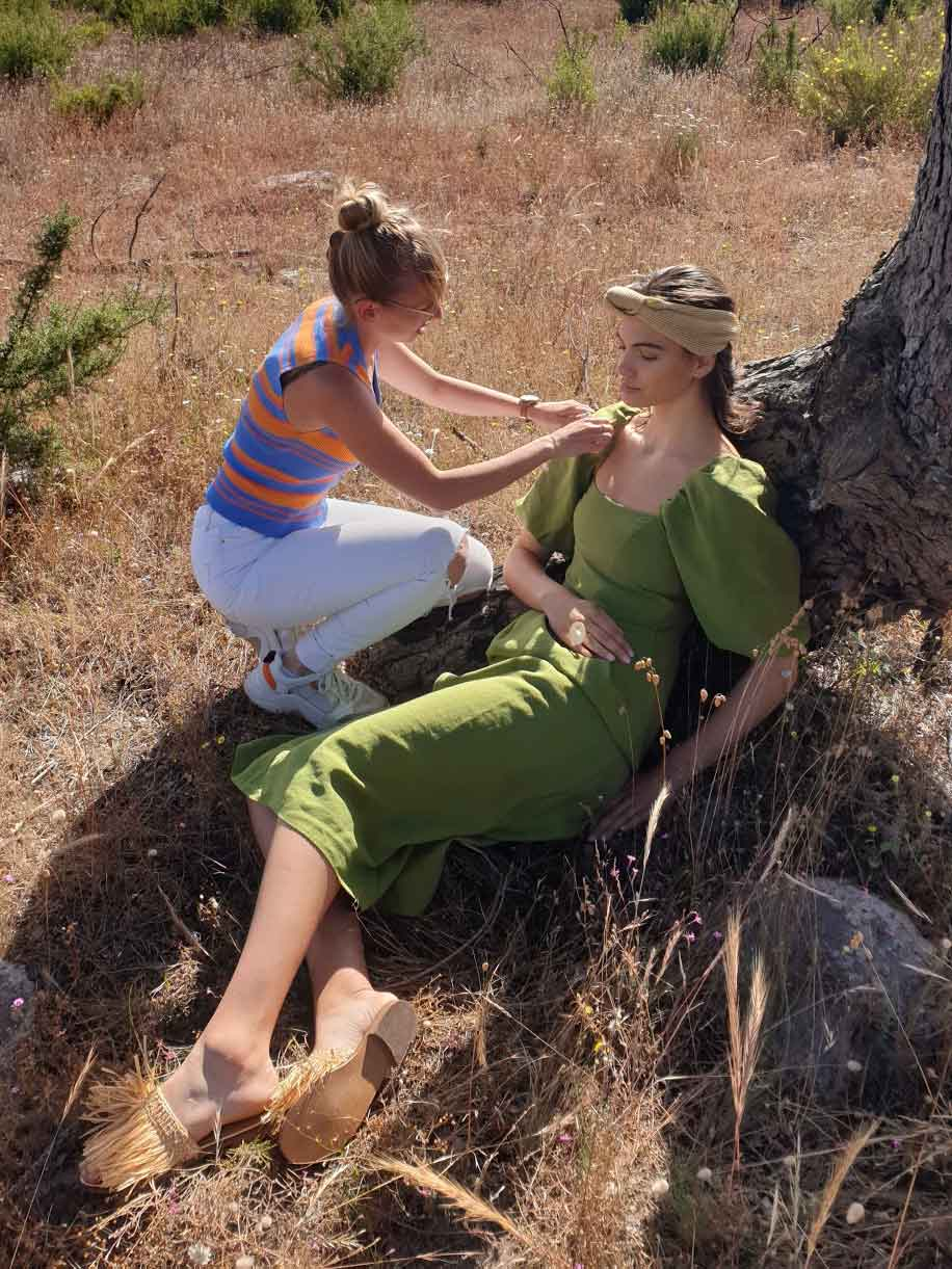 fashion photography behind the scenes photoshoot