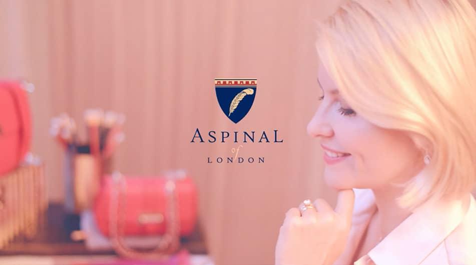 Fashion Videographer handbag aspinal of london -torysmith